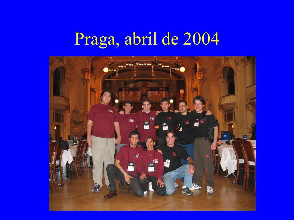 Praga, abril de 2004
