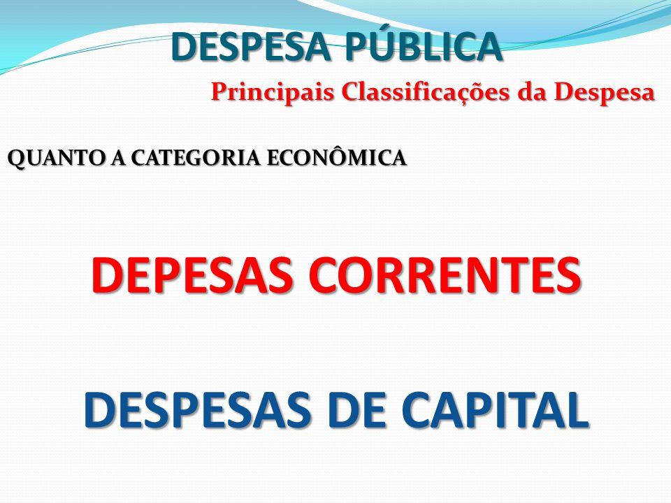 DESPESA PÚBLICA 3)Os compromissos reconhecidos após o encerramento do exercício financeiro.