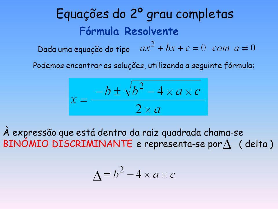 Resolve a Equação a = 2 ; b = 3 ; c = 0 1º Reduzir à forma canónica 2º colocar a incógnita em evidência 3º Aplicar a lei do anulamento do produto
