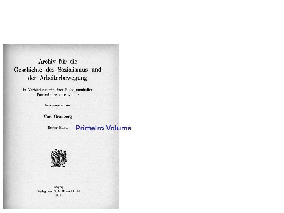 Primeiro Volume