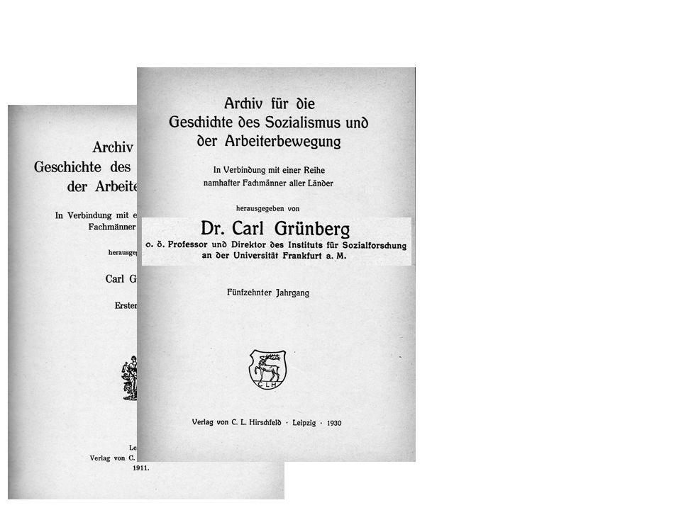 Índice do 15º volume (1930) Um novo conceito de ideologia? (Discussão crítica de Karl Mannheim, Ideologie und Utopie, 1929)