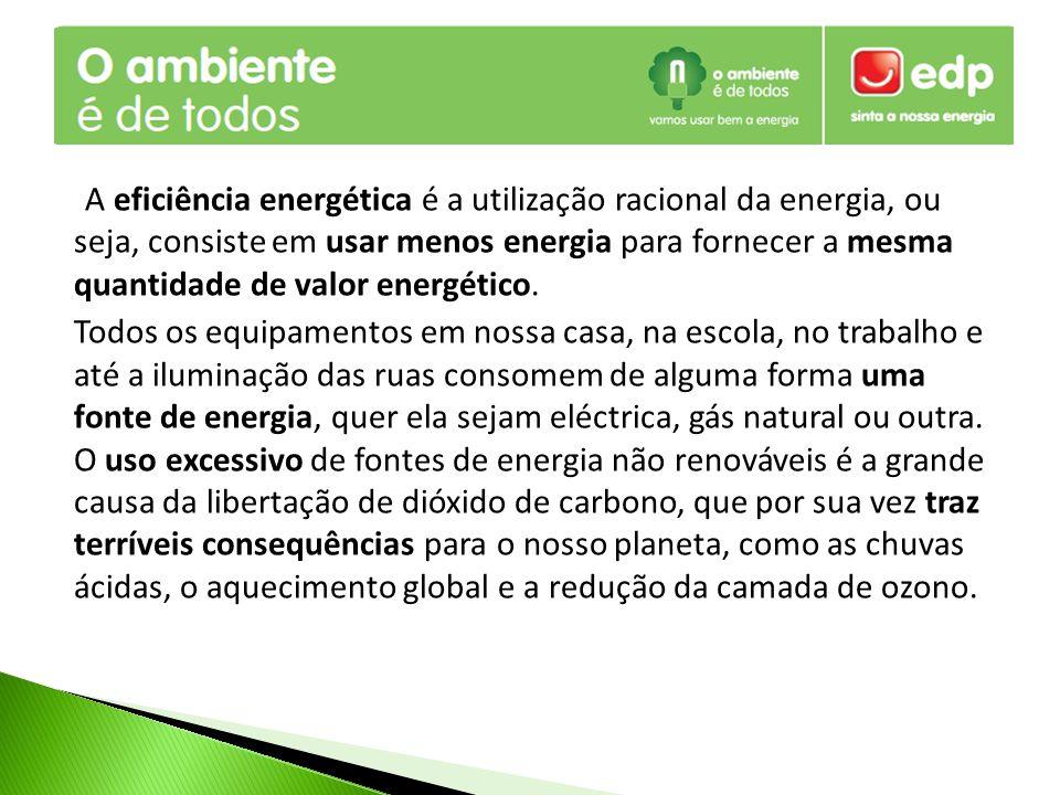 Uma forma mais eficiente de reduzirmos o consumo de combustíveis fósseis é através da utilização das energias renováveis como fonte de energia para o consumo das necessidades energéticas, como por exemplo a climatização das nossas casas e aquecimento das águas.