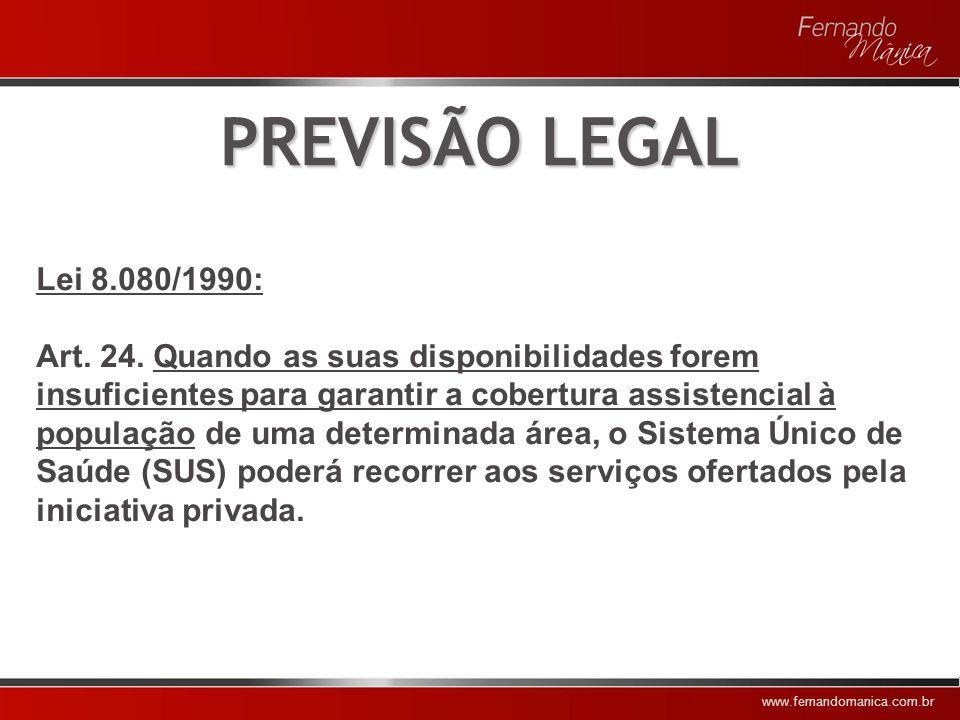www.fernandomanica.com.br PREVISÃO INFRALEGAL Portaria MS n.