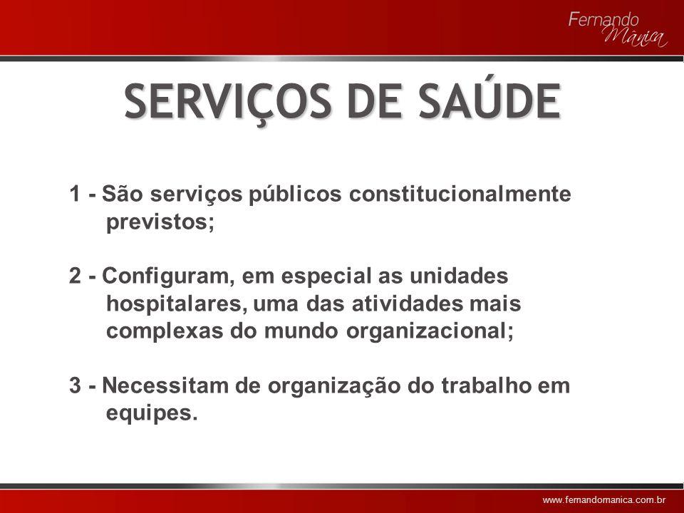 www.fernandomanica.com.br QUESTÃO SEMÂNTICA 1 – Privatização 2 – Terceirização 3 – Parceria