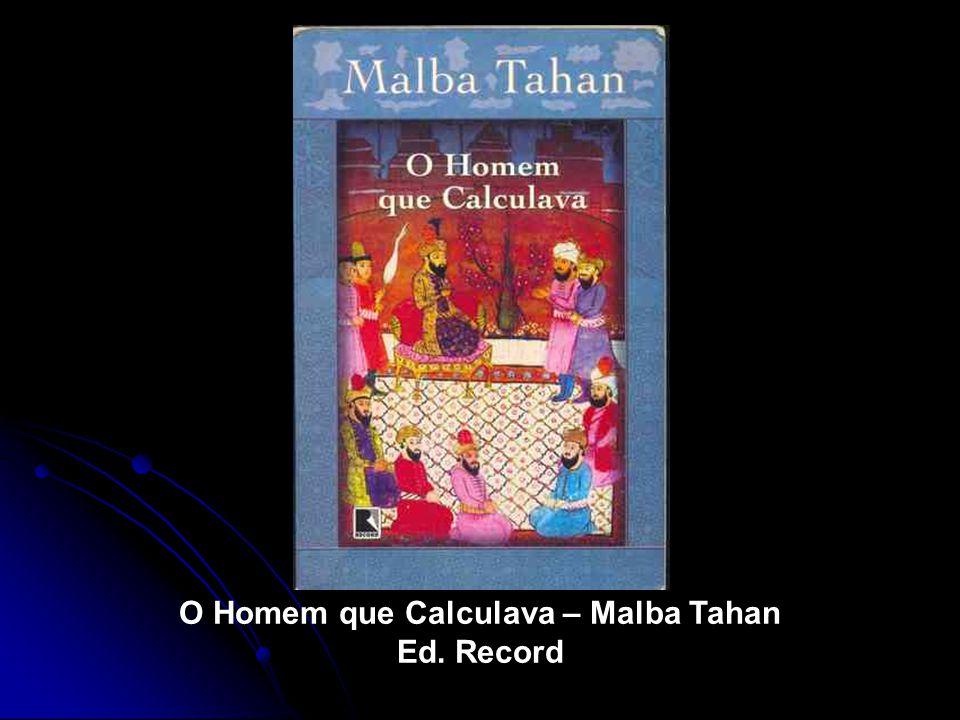 O Homem que Calculava – Malba Tahan Ed. Record