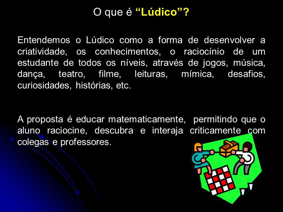 O que é Lúdico .