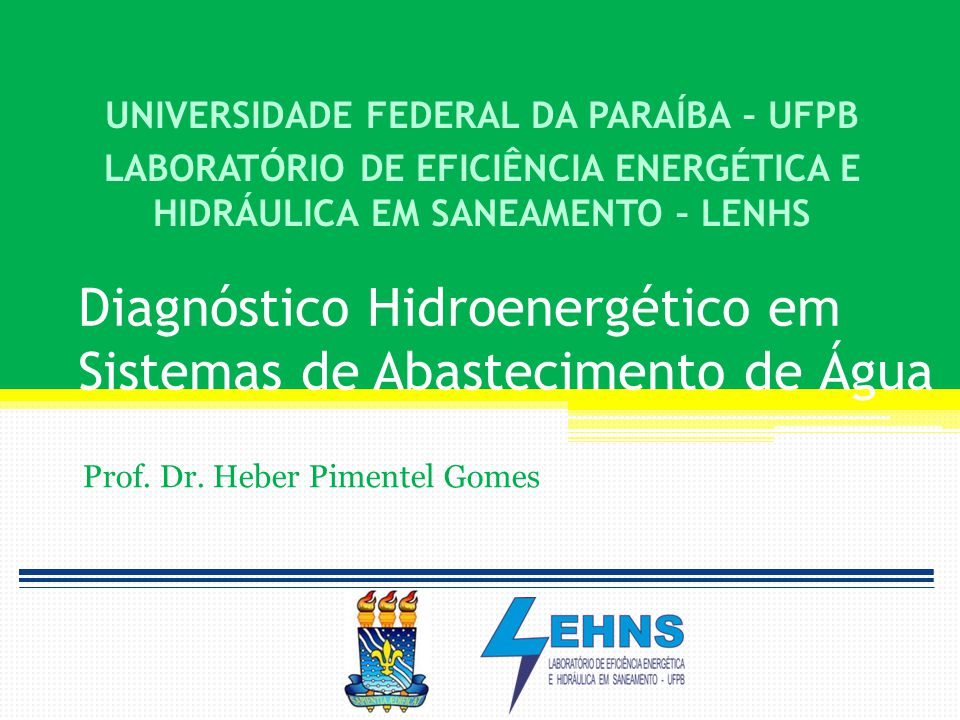 Diagnóstico Hidroenergético Tipologia (Sist.