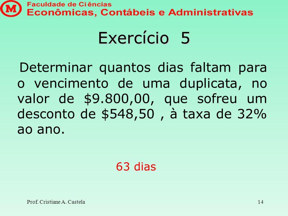 Prof.Cristiane A.