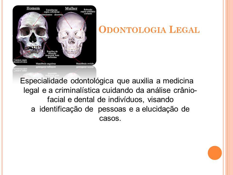 O RTOPEDIA FUNCIONAL DOS MAXILARES (OFM) Especialidade odontológica que através de uma analise geral do paciente (estético, funcional e psicológico) f