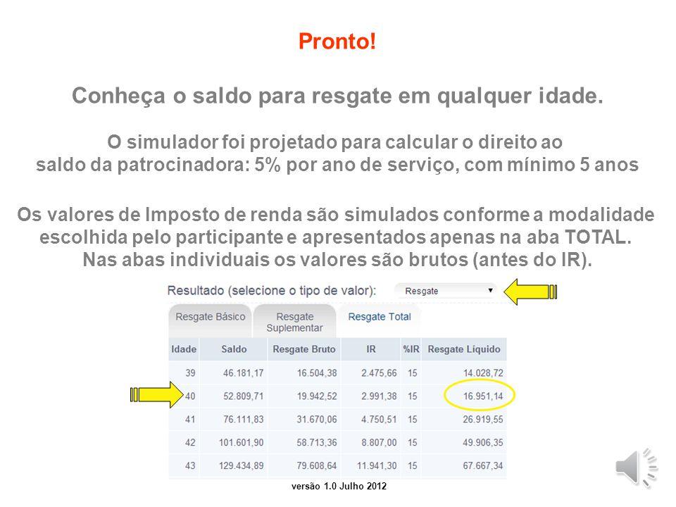 versão 2.0 Junho 2014 Selecione um plano para análise Básico, Suplementar, Total