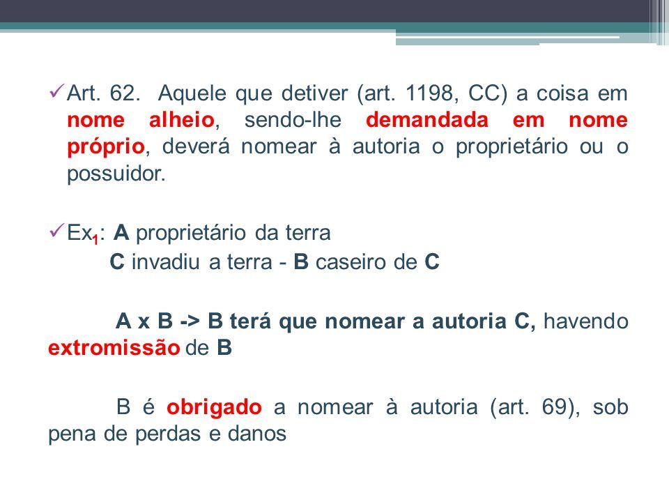 Art.62. Aquele que detiver (art.