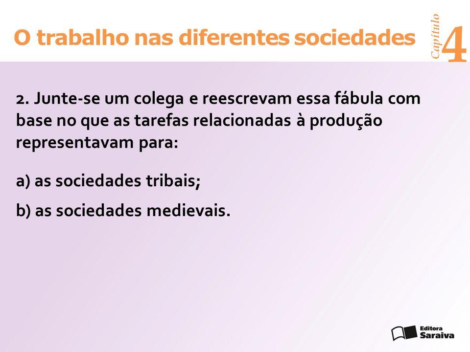 Capítulo 4 O trabalho nas diferentes sociedades 2.