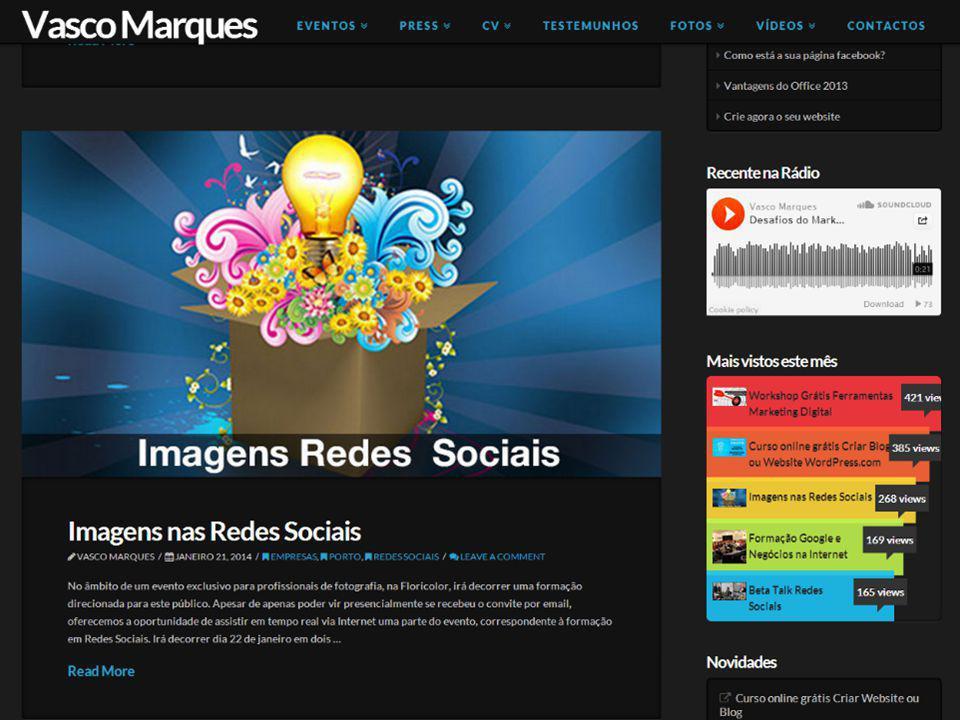 Workshop Marketing Digital | Vasco Marques vascomarques.com Vamos fazer hangout? 14