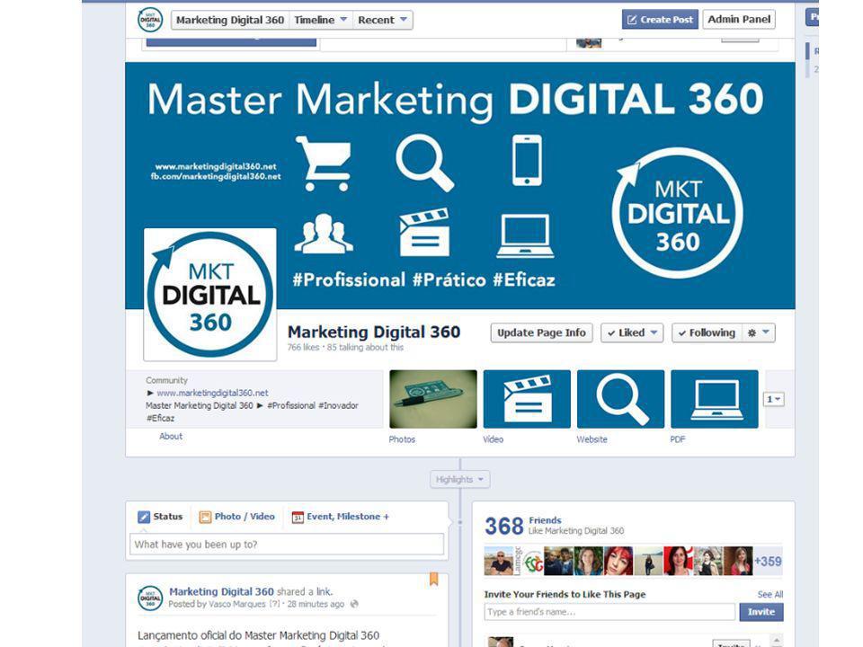 Workshop Marketing Digital | Vasco Marques vascomarques.com QUAIS AS REDES SOCIAIS MAIS IMPORTANTES.