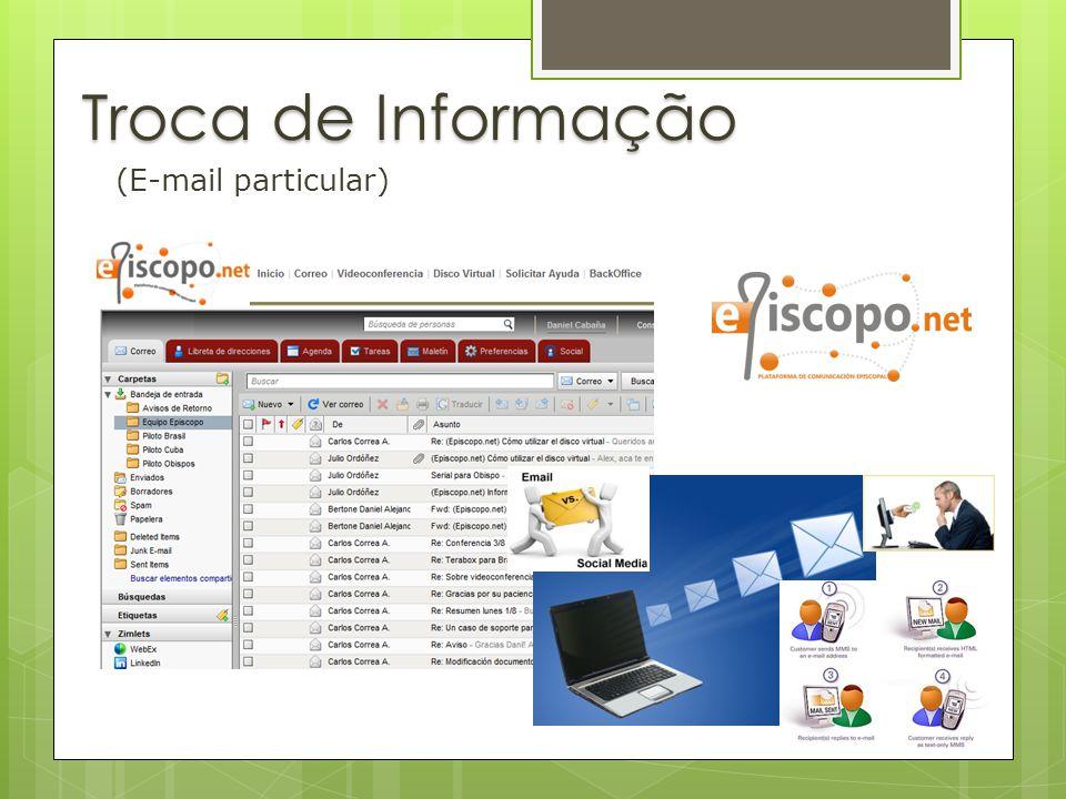 Troca de Informação (E-mail particular)