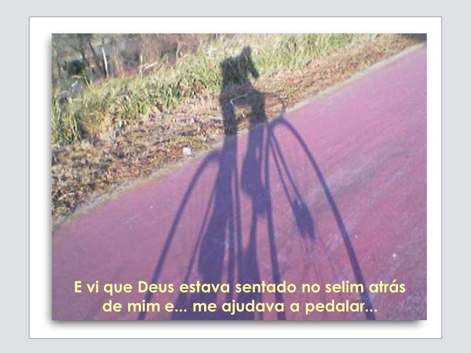Sonhei que tinha uma bicicleta com dois selins.