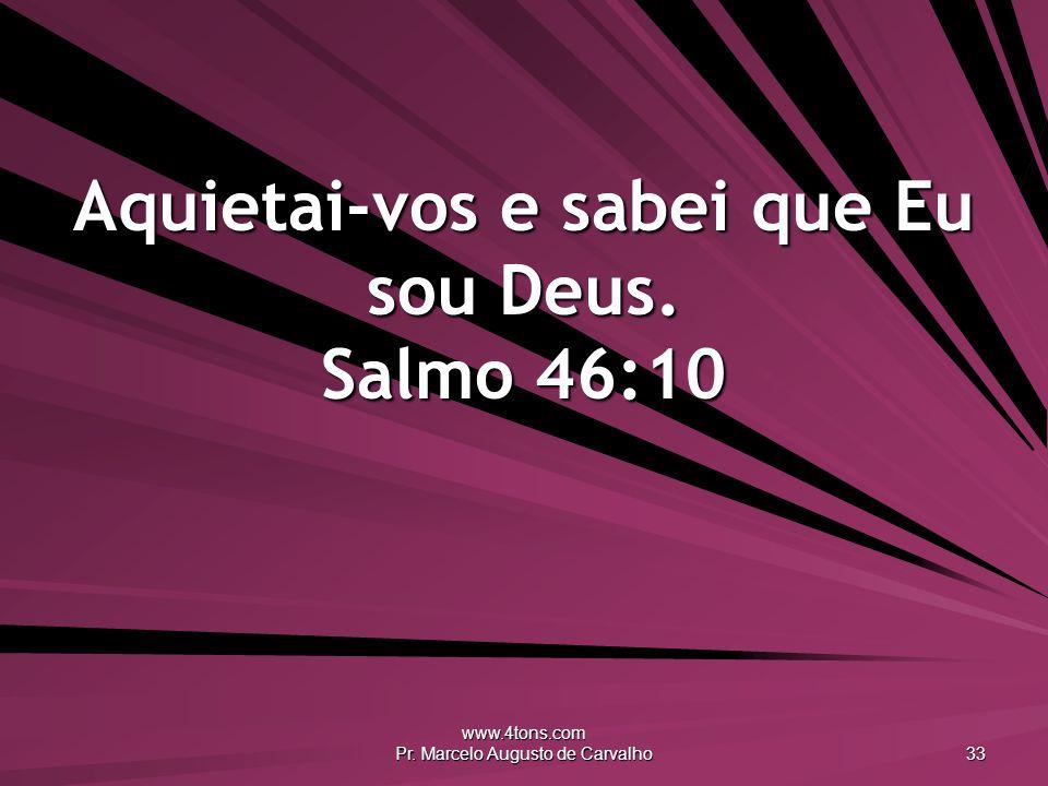www.4tons.com Pr.Marcelo Augusto de Carvalho 34 Todas as coisas criadas são pensamentos de Deus.