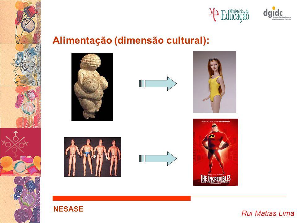 Rui Matias Lima NESASE Alimentação (dimensão cultural):