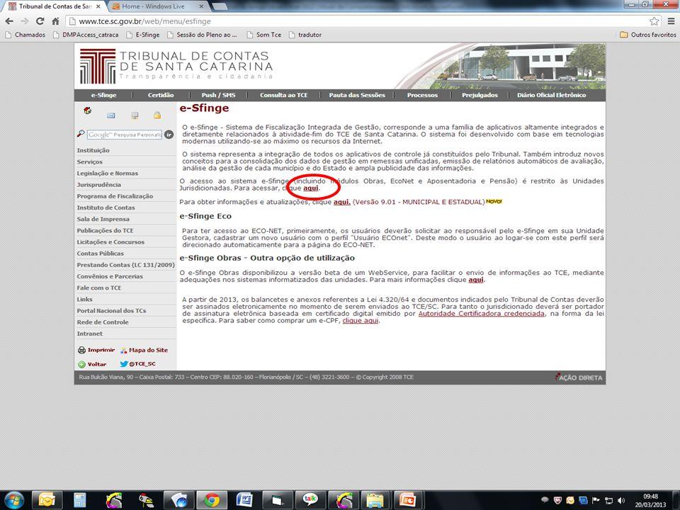 DIRETORIA DE LICITAÇÕES E CONTRATAÇÕES – DLC INSPETORIA 1 – OBRAS PÚBLICAS Sistema de Fiscalização Integrada de Gestão e-Sfinge e-Sfinge Obras Cadastrar Medição 18