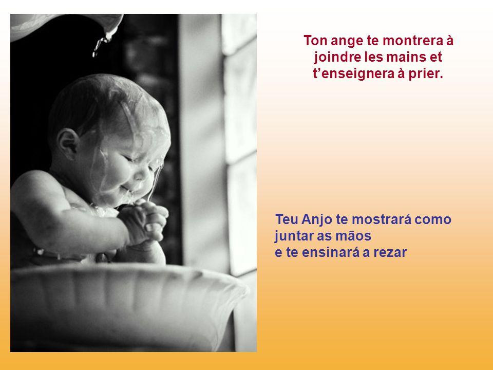 Dieu sourit à l'enfant enlui disant… Deus sorri para a criança lhe dizendo: