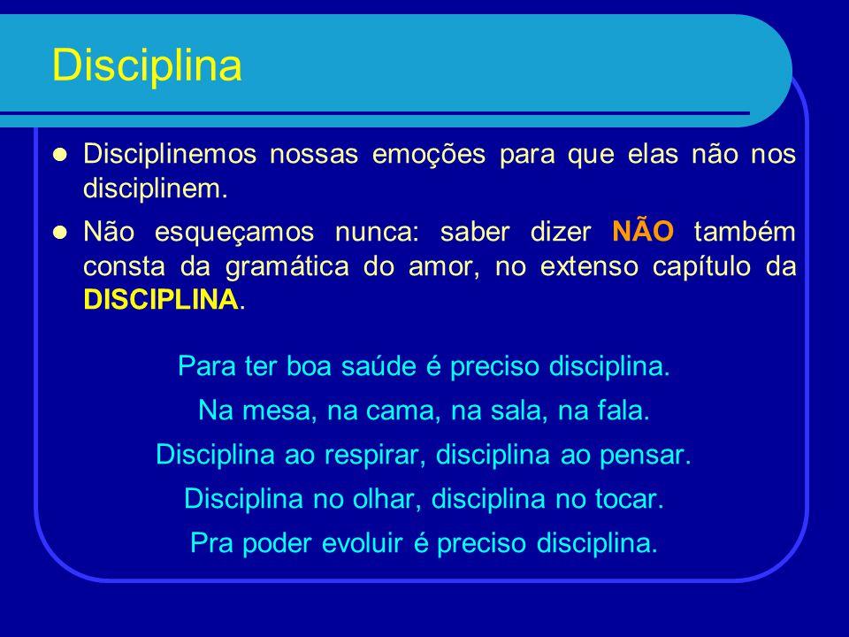 Disciplina Quando Jesus mencionou a
