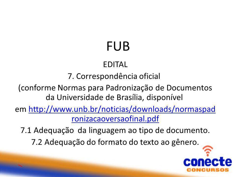 FUB EDITAL 7.
