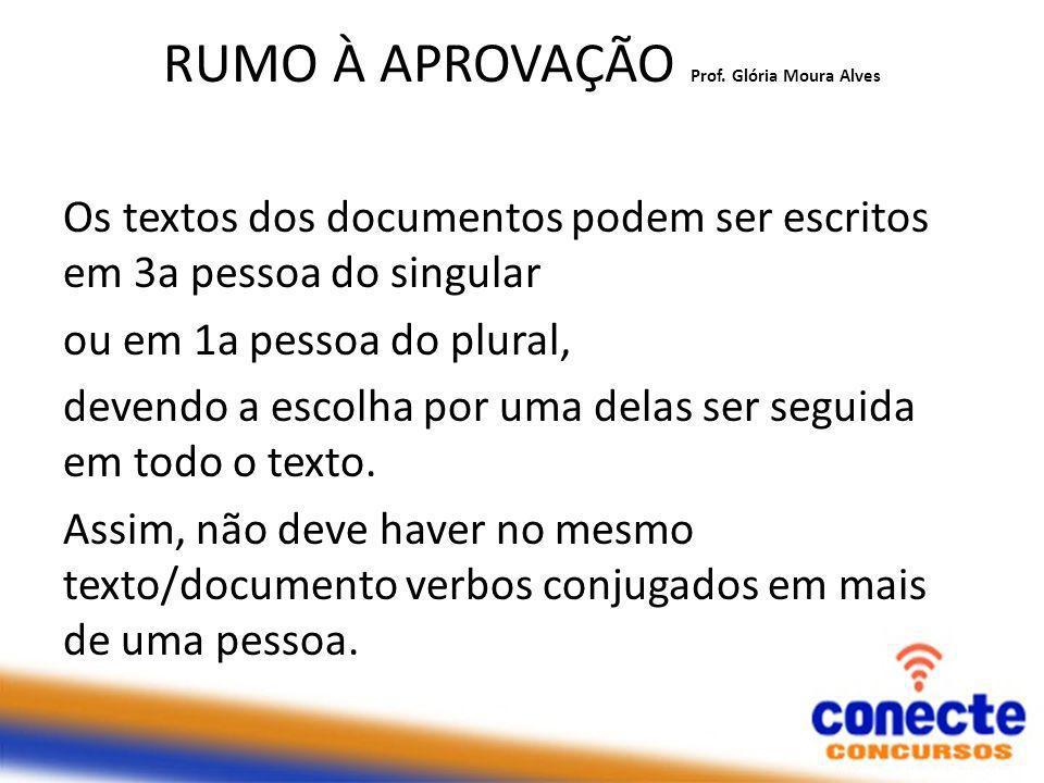 RUMO À APROVAÇÃO Prof.