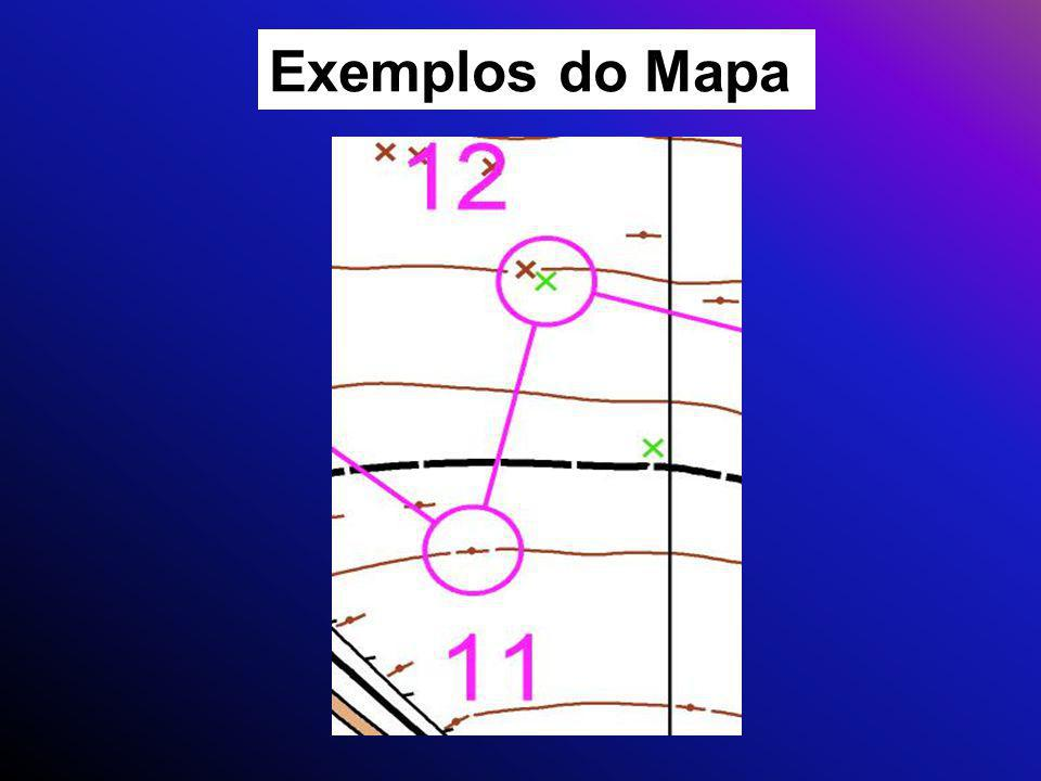 Exemplos do Mapa