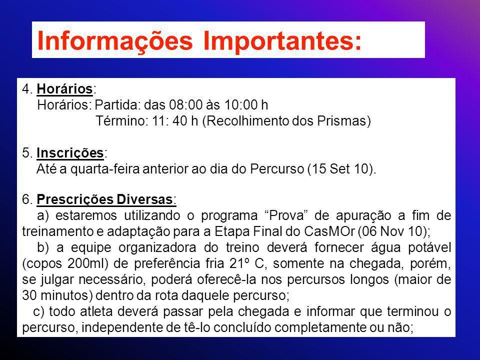 Informações Importantes: 4.