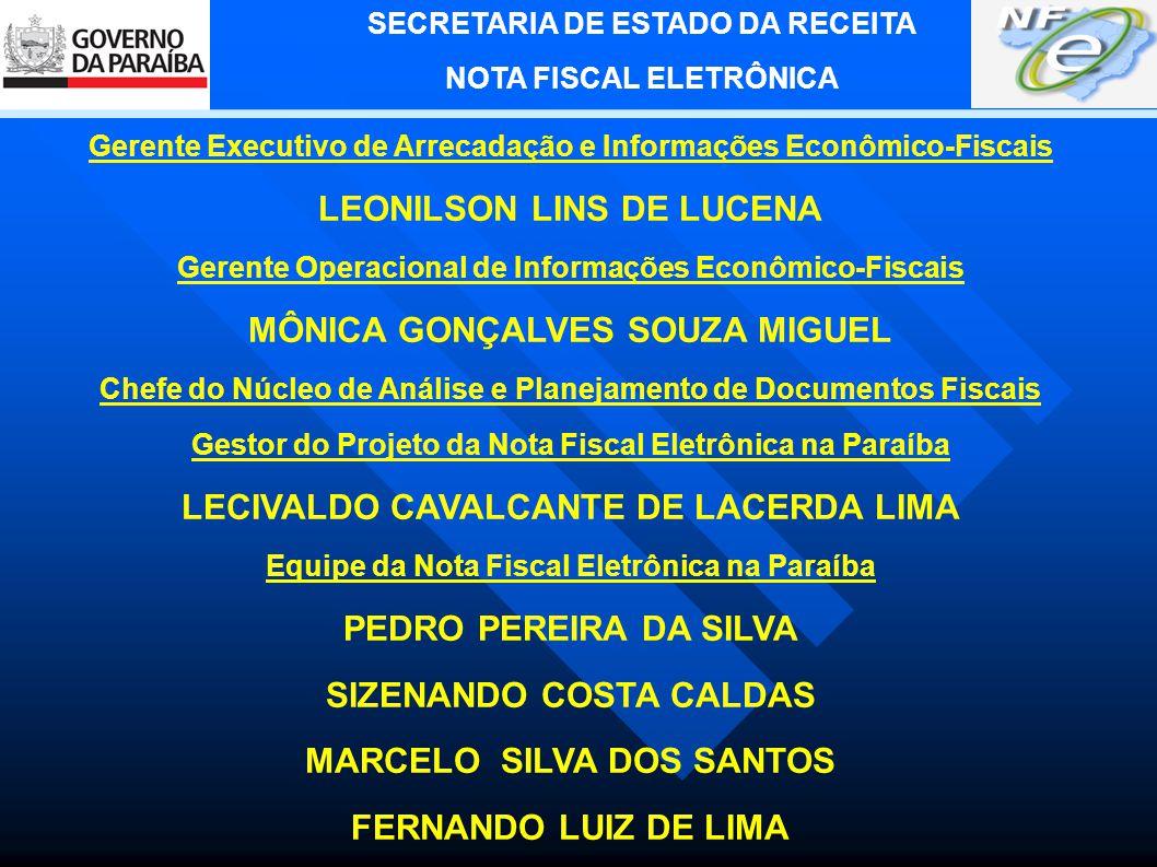 SECRETARIA DE ESTADO DA RECEITA NOTA FISCAL ELETRÔNICA 4.
