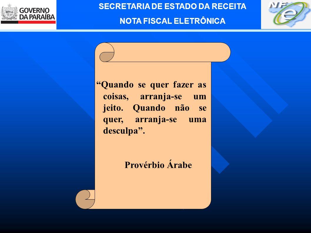 SECRETARIA DE ESTADO DA RECEITA NOTA FISCAL ELETRÔNICA 7.