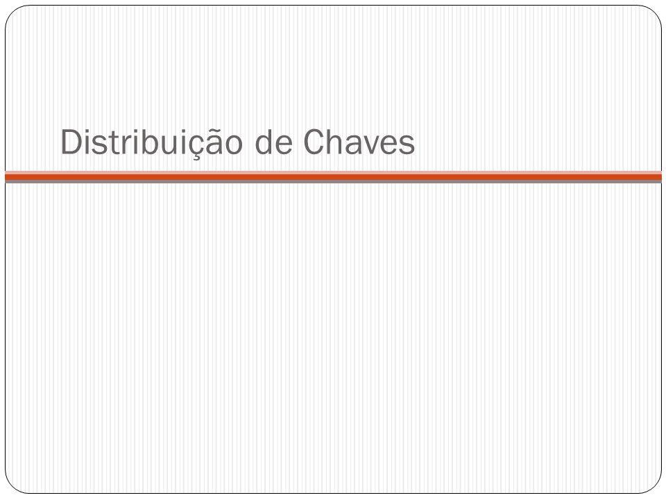 Centro de Distribuição de Chaves - CDC 2.O CDC responde com uma mensagem criptografada usando Ka.