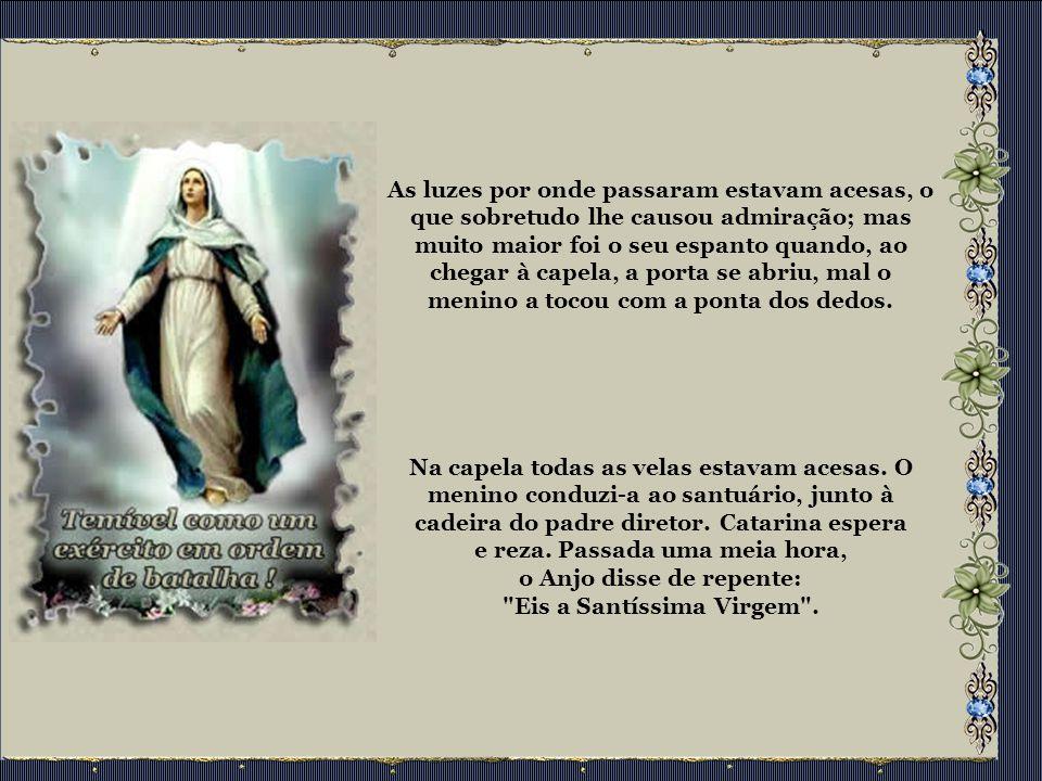 Aparições de Nossa Senhora das Graças Escrito por Apelos Urgentes Durante a noite do dia 18 a 19 de julho de 1830, a Virgem Gloriosa apareceu à irmã Catarina Labouré, Filha da Caridade de São Vicente de Paulo.