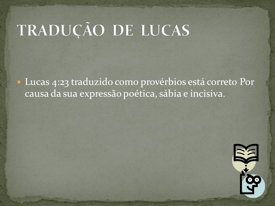 Estrutura poética em ditos parabólicos são úteis para entender os sentidos dos textos.