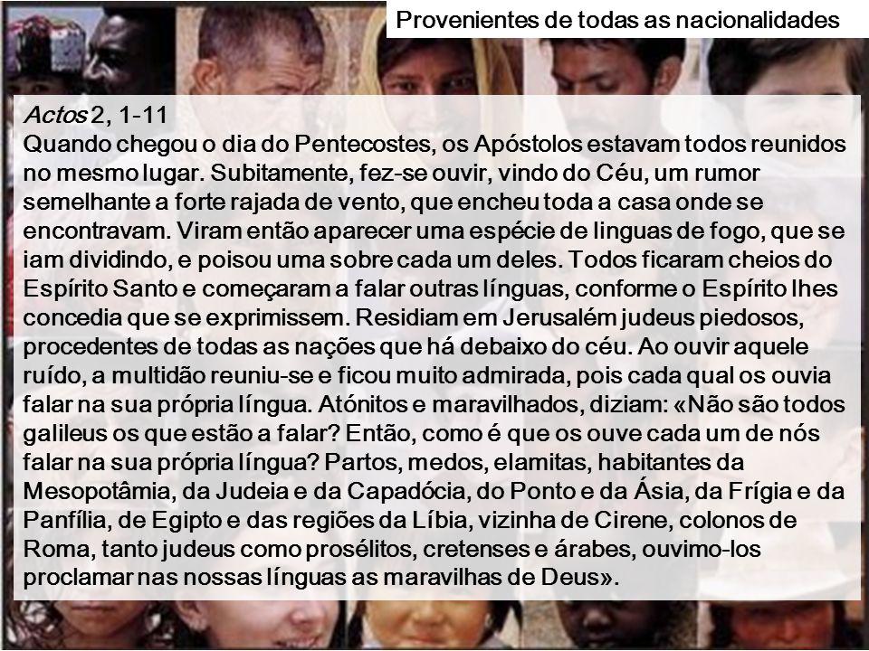 """Domingo do PENTECOSTES Domingo do PENTECOSTES Ciclo A 8 de Junho de 2014 A melodia bizantina """"Terceira estrofe Pascal"""" vem do cântico das sinagogas ju"""