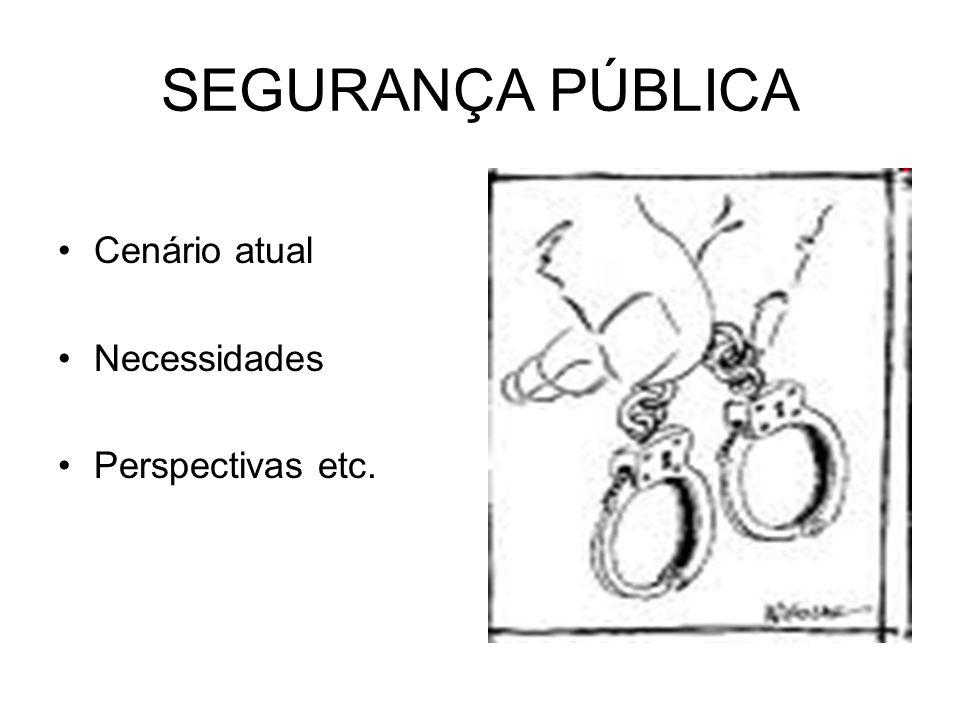SEGURANÇA PÚBLICA Traficantes fornecem à população serviços que são obrigações do Estado.