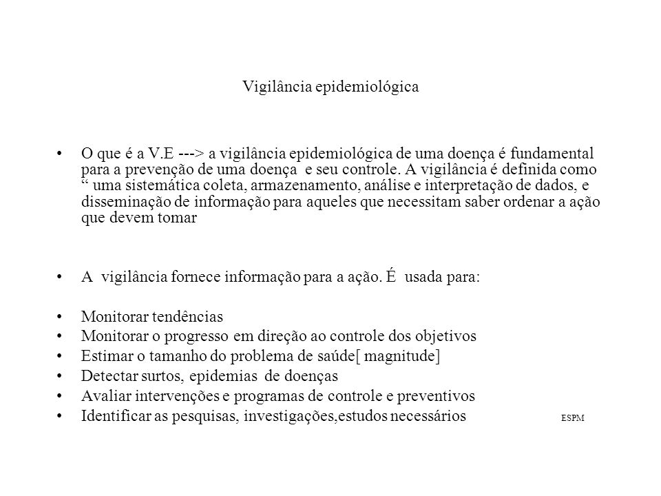 Notificação [2] É possível que não se notifiquem todos os casos que ocorram numa área.