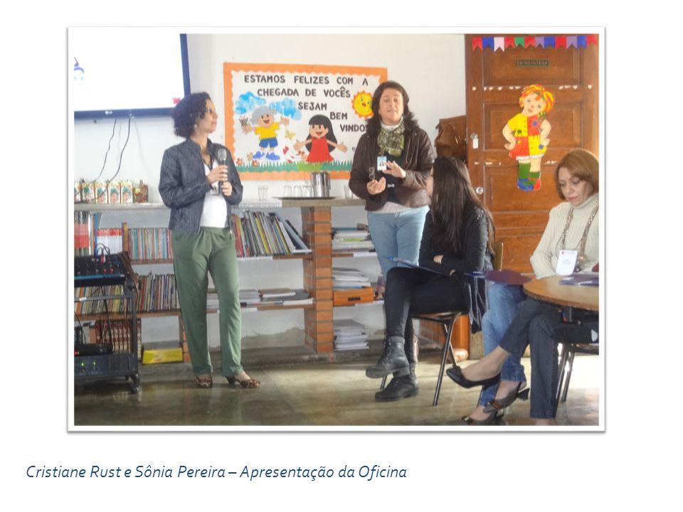 Cristiane Rust e Sônia Pereira – Apresentação da Oficina