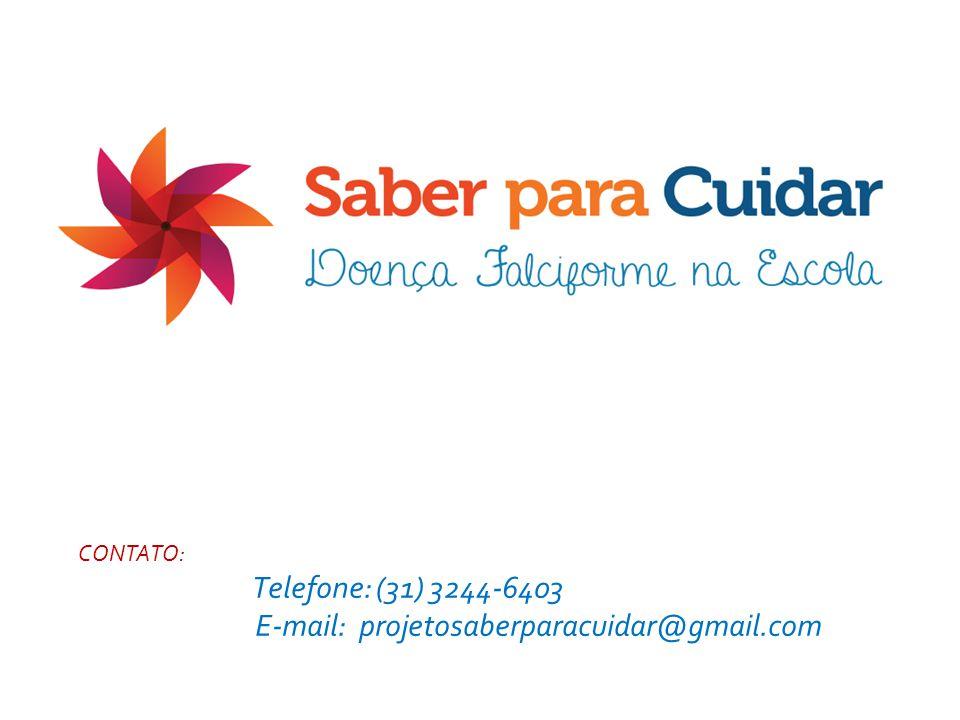 CONTATOS: Telefone: (31) 3244-6405 E-mail: cristiane@nupad.medicina.ufmg.br CONTATO: Telefone: (31) 3244-6403 E-mail: projetosaberparacuidar@gmail.com