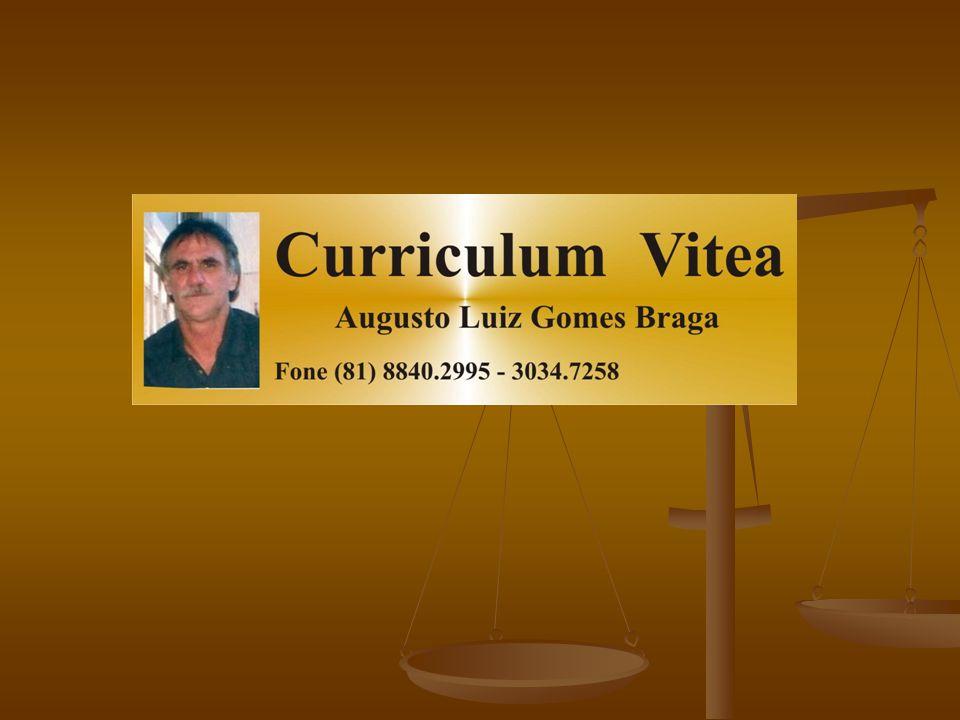 Rua João Sales de Menezes, 71 – Iputinga - Recife – PE – CEP 50740-110 Telefone: (81) 3034–7258 (81) 8840-2995 - E- Mail: augusto@projetsoft.com.br Estado Civil: Casado Rua João Sales de Menezes, 71 – Iputinga - Recife – PE – CEP 50740-110 Telefone: (81) 3034–7258 (81) 8840-2995 - E- Mail: augusto@projetsoft.com.br Estado Civil: Casado