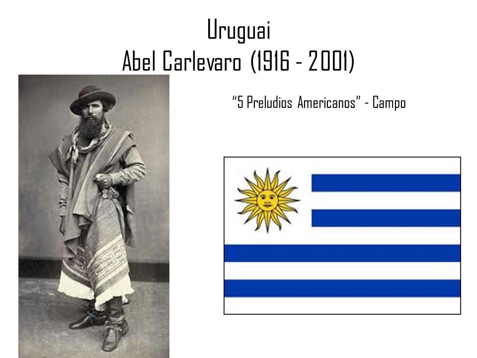 Uruguai Abel Carlevaro (1916 - 2001) 5 Preludios Americanos - Campo