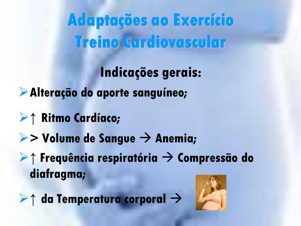 Componentes da PE Intensidade American Council on Exercise (2002) Duração Máx. 60 min. Frequência 3 – 4x/Semana0 Nenhum0,5 Extremamente leve 1 Muito l