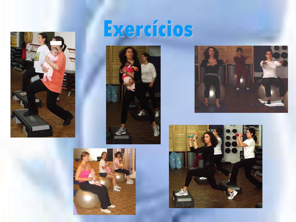 Indicações para o Exercício Pós-Parto 1º Mês 2º Mês 3º Mês