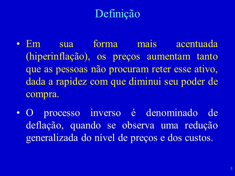 AnoMeta (%) Banda (p.p.) Limites Inferior e Superior (%) Inflação Efetiva (IPCA % a.a.) 19998,0026-108,94 20006,0024-85,97 20014,0022-67,67 20023,5021,5-5,512,53 2003a3,2521,25-5,259,30 2003b4,002,51,5-6,59,30 2004a3,752,51,25-6,257,60 2004b5,502,53-87,60 20054,502,52-75,69 20064,5022,5-6,53,14 20074,5022,5-6,54,46 20084,5022,5-6,55,90 20094,5022,5-6,54,31 20104,5022,5-6,55,91 20114,5022,5-6,56,50 20124,5022,5-6,5 20134,5022,5-6,5