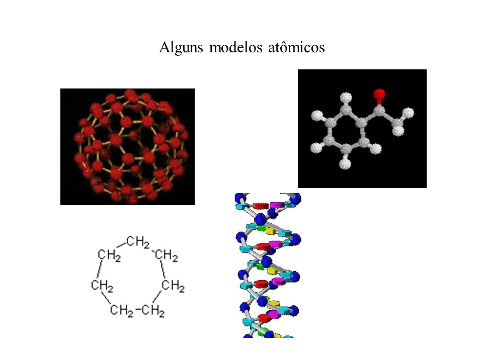 Alguns modelos atômicos