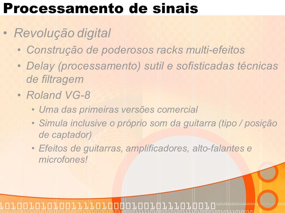 Multi-tap delay Exemplos: http://www.harmony- central.com/Effects/Articles/Delay/http://www.harmony- central.com/Effects/Articles/Delay/ http://www.youtube.com/watch?v=4kpHmtA7LOk