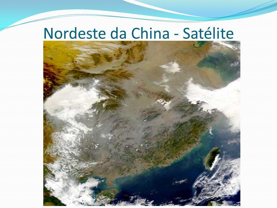 Nordeste da China - Satélite
