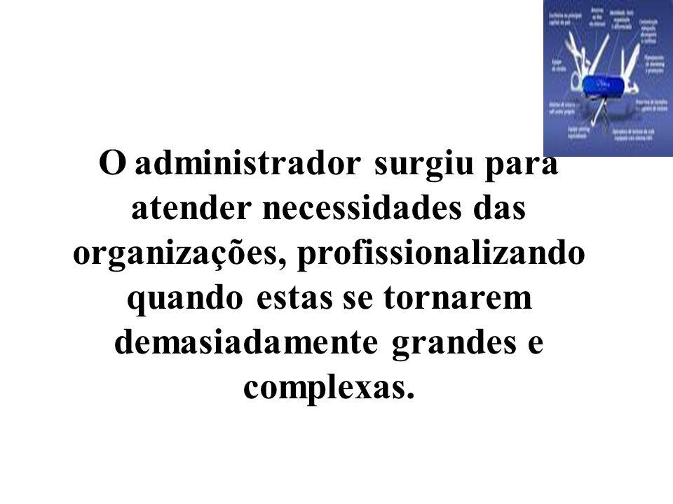 """A administração nada mais é do que a condução racional das atividades de uma organização. """"Sem a Administração, as organizações jamais teriam condiçõe"""