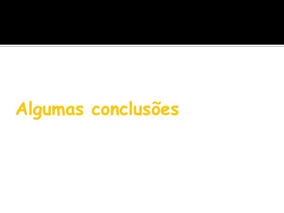 Algumas conclusões