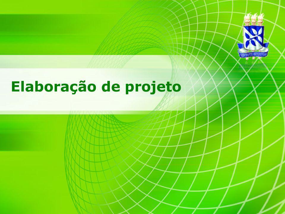 2 Associação Brasileira de Normas Técnicas (ABNT) – NBR 15287 INFORMAÇÃO E DOCUMENTAÇÃO PROJETO DE PESQUISA APRESENTAÇÃO Princípios gerais para apresentação de projetos de pesquisa